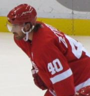 Detroit Red Wings captain Henrik Zetterberg. Image Courtesy of Wikipedia Commons.