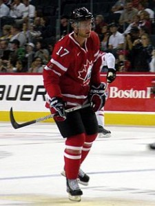 Jeff Carter Team Canada