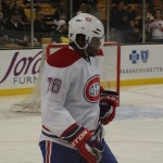 Canadiens defenceman P. K. Subban. Image Courtesy of Flickr. Photograph by Margaret.