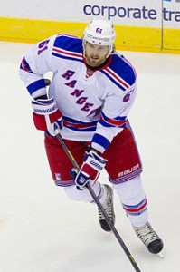 Rick Nash, New York Rangers.