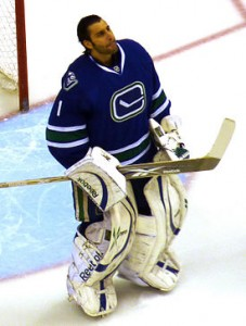 Roberto Luongo, Vancouver Canucks, Stanley Cup