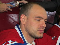 Andrei Markov of the Montreal Canadiens. Image Courtesy of Wikipedia Commons.