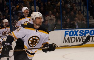Bruins defenceman Dennis Seidenberg. Image courtesy of Wikipedia Commons.