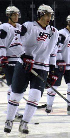 Montreal Canadiens defenceman Jarred Tinordi on Team USA