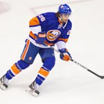 Matt Moulson with the New York Islanders. Image Courtesy of Wikipedia Commons.