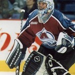 Patrick Roy as a member of the Colorado Avalanche. Image Courtesy of Wikipedia Commons.