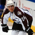 Avalanche centre Paul Stastny. Image courtesy of Wikipedia Commons.