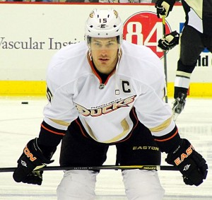 Ducks' captain Ryan Getzlaf. Image Courtesy of Wikipedia COmmons.