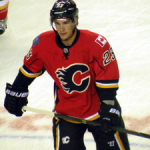 Calgary Flames rookie sensation Sean Monahan. Image Courtesy of Wikipedia Commons.