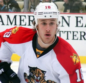 Shawn Matthias of the Florida Panthers. Image Courtesy of Wikipedia Commons.
