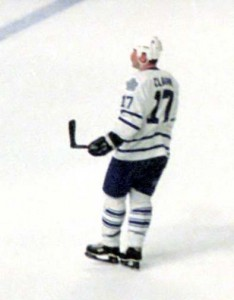 Former Maple Leafs captain Wendel Clark. Image courtesy of Wikipedia Commons.
