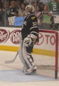 Kari Lehtonen of the Dallas Stars. Image courtesy of Wikimedia Commons.