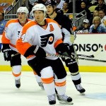 Philadelphia Flyers defenceman Kimmo Timonen. Image courtesy of Wikimedia Commons.