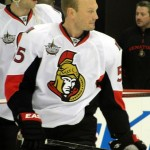 Defenceman Sergei Gonchar with the Ottawa Senators. Image courtesy of Wikimedia Commons.