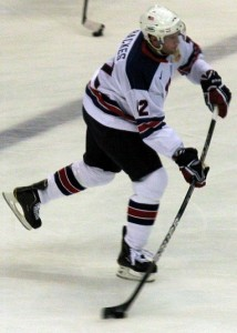 David Backes, Team USA.
