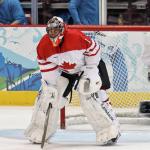 Roberto Luongo, Team Canada.